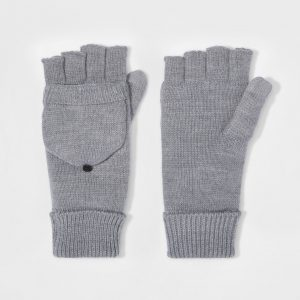 fingerless mittens for men