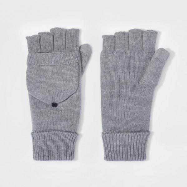 fingerless mittens for men