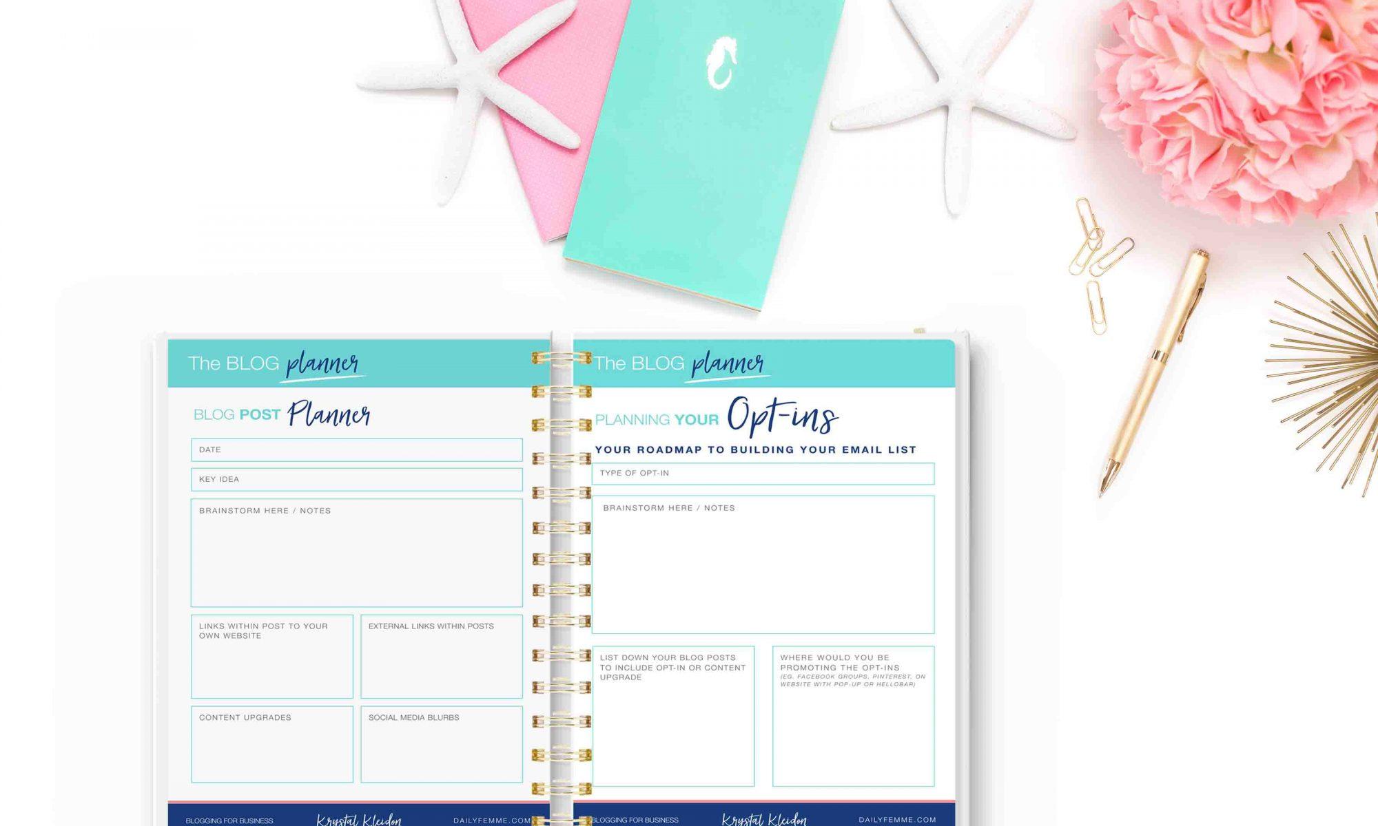 content calendar planning