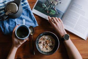 breakfast reading