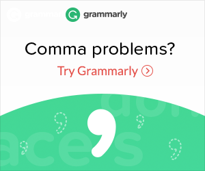Comma problems? Try Grammarly.